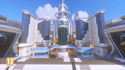 Overwatch - Busan Control Map Overview Video