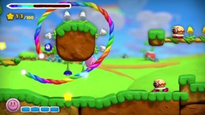 Kirby and the Rainbow Curse - Ankündigungs-Trailer E3 2014