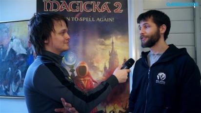 Magicka 2 - Interview Peter Cornelius
