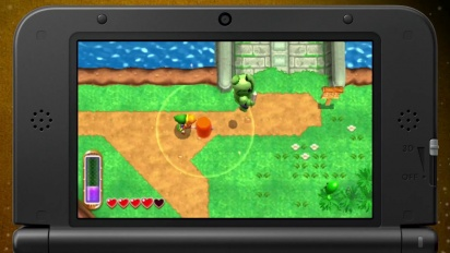 The Legend of Zelda: A Link Between Worlds - E3 Trailer
