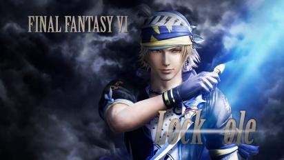 Dissidia Final Fantasy NT - Locke Cole Announced