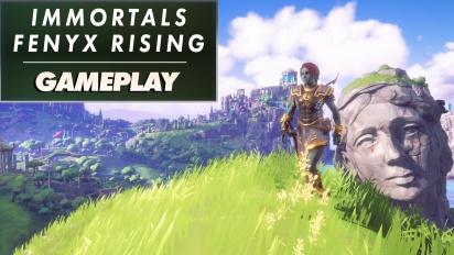 Immortals: Fenyx Rising - Wir treffen Aphrodite im Garten des ewigen Frühlings (Preview-Gameplay #4)