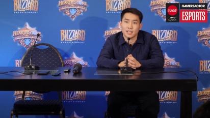 Hearthstone World Championship 2018 - Pressekonferenz von Fr0zen