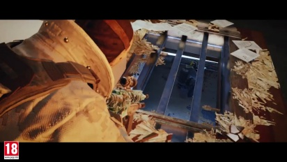 Tom Clancy's Rainbow Six Siege - Clutch Royale Trailer