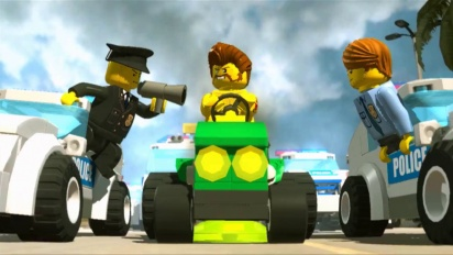 Lego City Undercover - TV Commercial: Vehicles