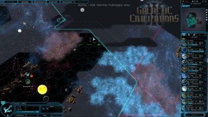 Galactic Civilizations III - Alpha Gameplay Video