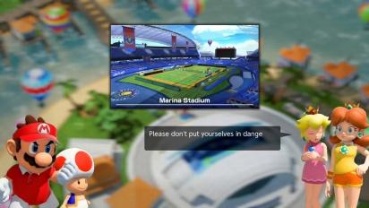 Mario Tennis Aces - Adventure Mode Trailer