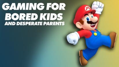 Spiele für gelangweilte Kinder und verzweifelte Eltern
