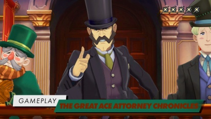 The Great Ace Attorney Chronicles - Intro-Gameplay