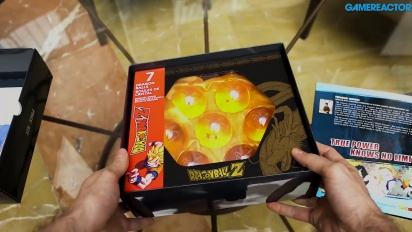 Dragon Ball FighterZ - Unboxing-Video vom Pressekit