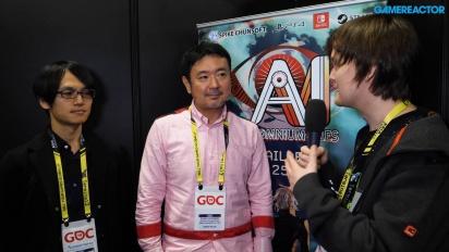 AI: The Somnium Files - Kotaro Uchikoshi & Akira Okada Interview