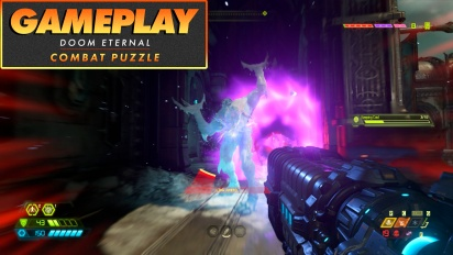Doom Eternal - Das Kampf-Puzzle (Gameplay)