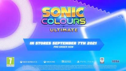 Sonic Colours Ultimate Spotlight #2: Meet the Wisps!