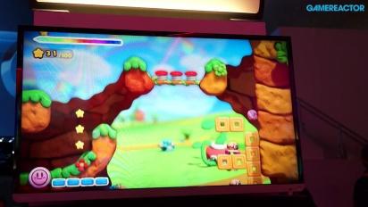 Kirby and the Rainbow Curse - E3 2014 Gameplay
