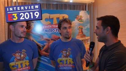 Crash Team Racing Nitro-Fueled - Interview mit Stephane Gravel & Andrew Petrie