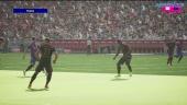 Efootball 2022 - Bayern gegen Barça (Gameplay)