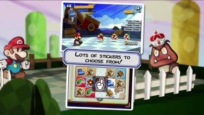 Paper Mario: Sticker Star - Launch Trailer