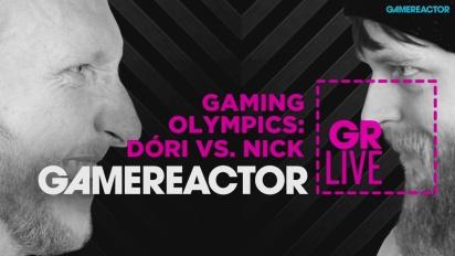 Gaming Olympics: Dóri vs. Nick - Livestream-Wiederholung