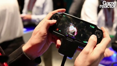CES 12: Super Stardust Delta - Vita Gameplay