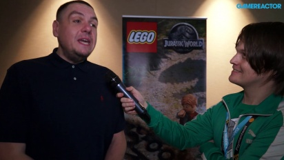 Lego Jurassic World - Interview Mike Taylor
