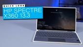 HP Spectre X360 13.3: Quick Look