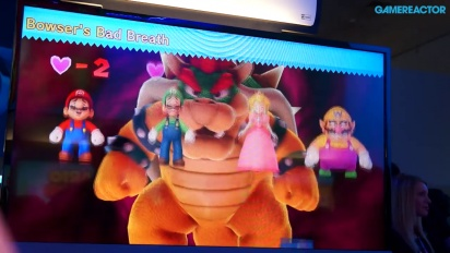 Mario Party 10 - E3 2014 Gameplay