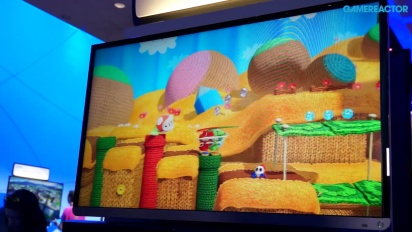 Yoshi's Woolly World - E3 2014 Gameplay (Wii U)