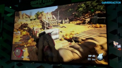 Sniper Elite 3 - E3 2014 Gameplay