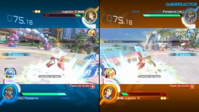 Pokkén Tournament DX - Splitscreen-Multiplayer-Gameplay