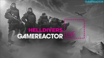Helldivers (mit Entwicklern) - Livestream-Wiederholung