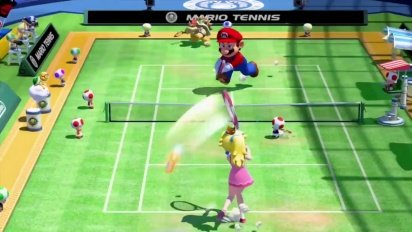 Mario Tennis: Ultra Smash - E3 2015 Trailer (Deutsch)