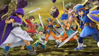 Super Smash Bros. Ultimate - Dragon Quest Character Reveal