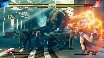 Street Fighter V: Arcade Edition - Character Introduction Series: Lucia