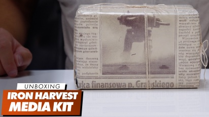 Iron Harvest - Unboxing-Video des Media-Kits