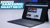 Samsung Galaxy Tab S7+: Quick Look