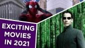 Screen Time: Einige der spannendsten Filme, die 2021 erscheinen sollen