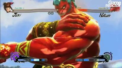 Super Street Fighter IV - Hakan vs. Juri
