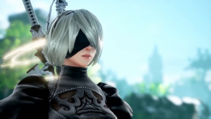 Soul Calibur VI - 2B from NieR: Automata Trailer