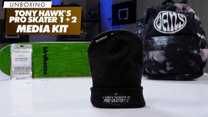 Tony Hawk's Pro Skater 1 and 2 - Unboxing des Media-Kits