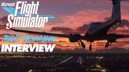Microsoft Flight Simulator - Interview mit Jorg Neumann