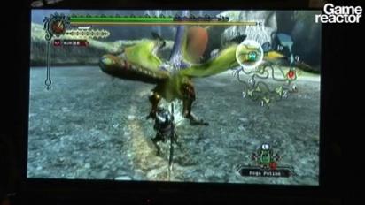 GDC 2010: Monster Hunter Tri - Gameplay