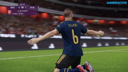eFootball PES 2020 - Gameplay (Data-Pack 6.0) - Arsenal vs Liverpool