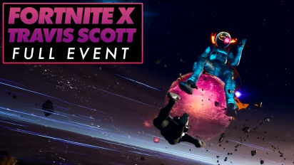 Fortnite X Travis Scott - Das komplette Event