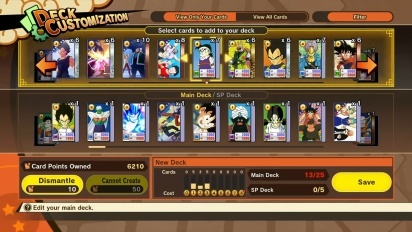 Dragon Ball Z: Kakarot  - Card Warriors Update
