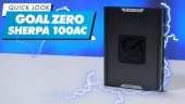 Goal Zero Sherpa 100AC (portable Powerbank): Quick Look