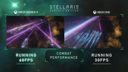 Stellaris: Console Edition - Xbox Series X / Xbox One Comparison