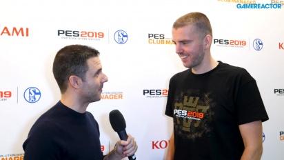 Pro Evolution Soccer 2019 - Lennart Bobzien Launch Interview