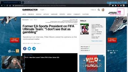 GRTV News - Ehemaliger EA-Sports-Präsident kommentiert Glücksspielvorwürfe in FIFA Ultimate Team