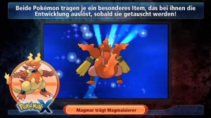 Pokémon X/Y - Magmar und Elektek Trailer