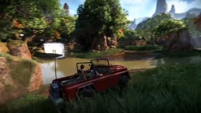 Uncharted: The Lost Legacy - Western Ghats Gameplay Video